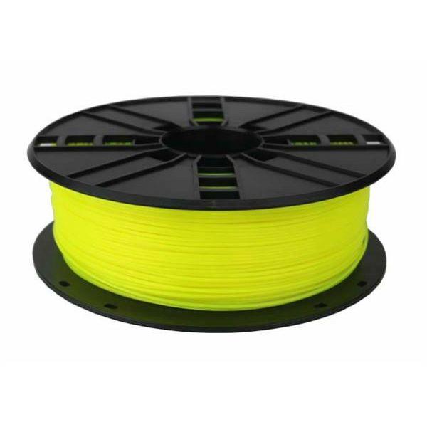 Gembird 3DP-PLA1.75-01-FY PLA Fluorescent Yellow, 1.75 mm, 1 kg