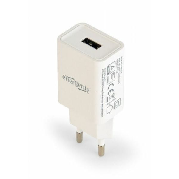 Gembird Universal USB charger, 2.1 A, white