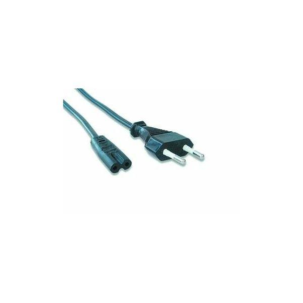 Gembird Power cord 1,8m EU input 2 pin plug