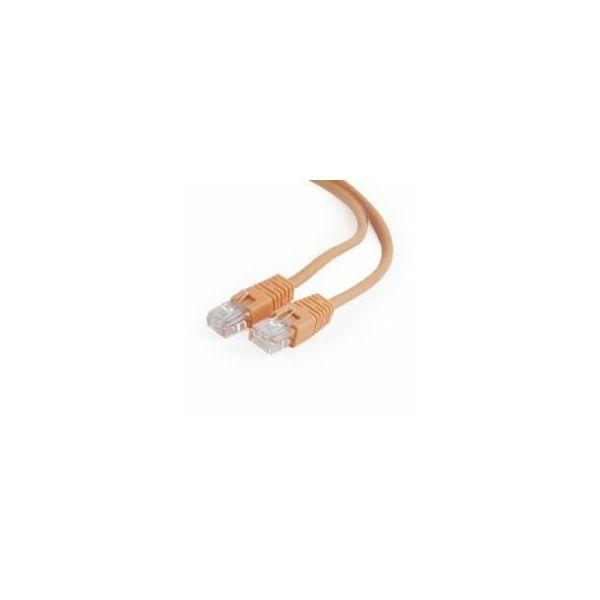 Gembird CAT5e UTP Patch cord, orange, 0,25 m