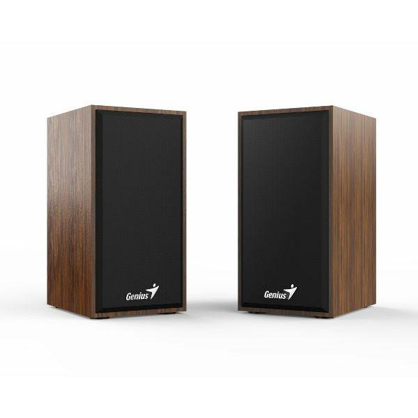 Genius zvučnici SP-HF180, 2x3W, USB+3,5mm, drveni