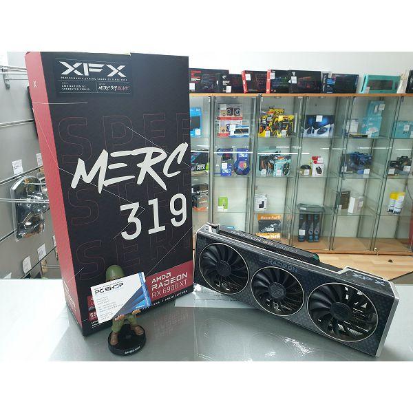 Grafička kartica XFX AMD Radeon RX 6900 XT MERC 319 BLACK 16GB 256bit GDDR6, 2340, 16000, PCI-E 4, 2x DP, HDMI, USB-C Triple Fan 3 slot