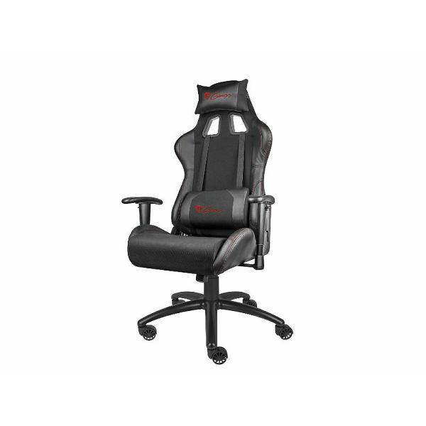 Genesis Nitro 550, gaming stolica, crna