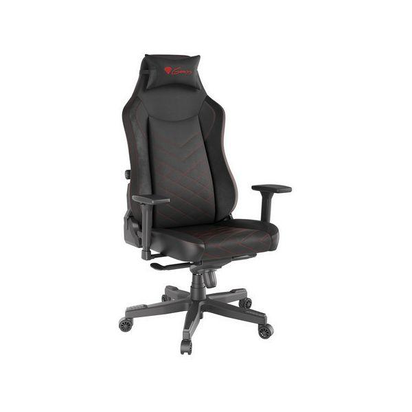 Genesis Nitro 890, gaming stolica, crna
