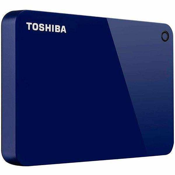 Toshiba External Hard Drive Canvio Advance (2.5 1TB, USB3.0, Blue)
