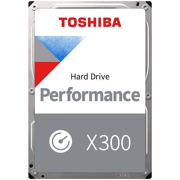 HDD Desktop Toshiba X300 (3.5 12TB, 7200RPM, 256MB, SATA 6Gb/s), bulk