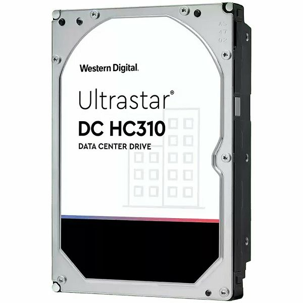 Western Digital Ultrastar DC HDD Server 7K6 (3.5'', 6TB, 256MB, 7200 RPM, SAS 12Gb/s, 512E SE), SKU: 0B36047