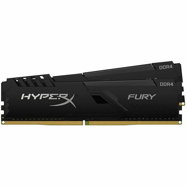 Kingston DRAM 32GB 3200MHz DDR4 CL16 DIMM (Kit of 2) HyperX FURY Black EAN: 740617308457