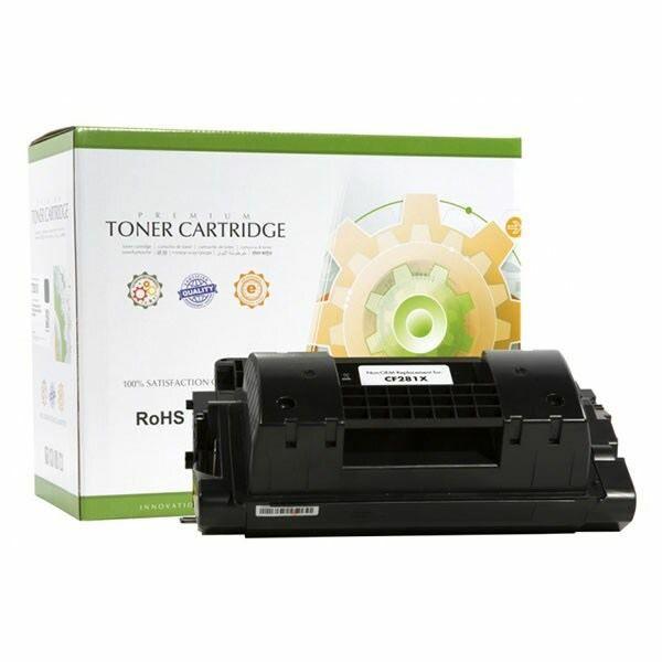 Toner Static Control HP CF281X, Black