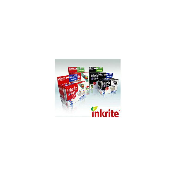 Zamjenska tinta Canon CLI-521Y WITH CHIP - MP980,MP620,MP630,MP540,iP4600,iP3600 - Žuta Inkrite
