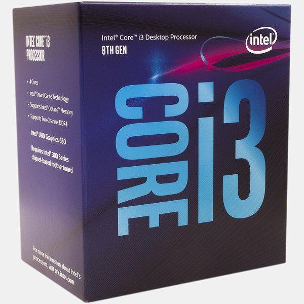 Intel Core i3 8300 3.7GHz,8MB,4C,LGA 1151 CL