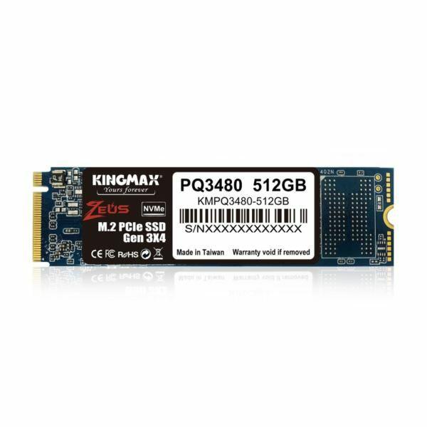 Kingmax SSD 512GB NVMe