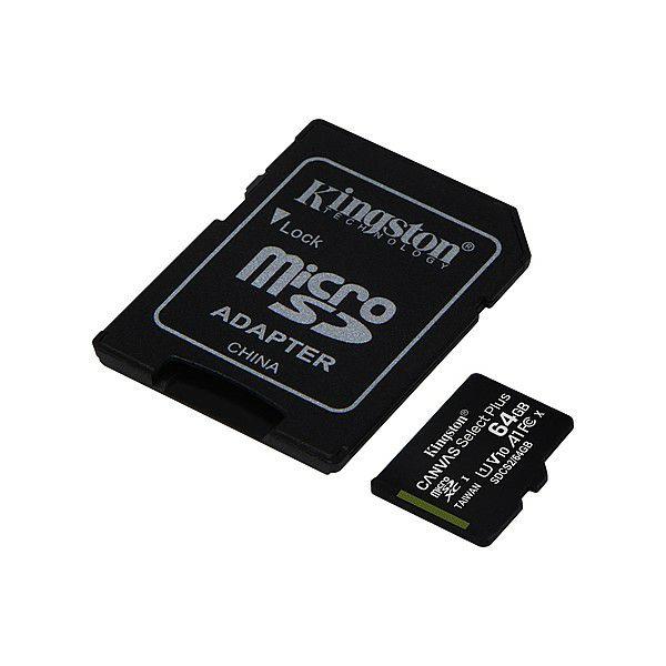 Memorijska kartica KINGSTON microSDXC, Select plus, Class10, 64GB