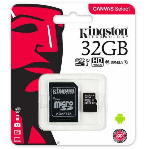 Memorijska kartica Kingston MicroSDHC Class10 32GB