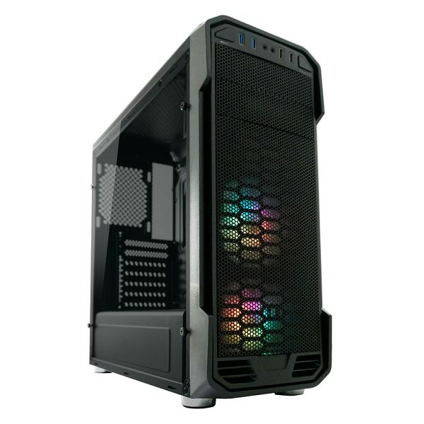 Kučište LC-Power 984B Dragonslayer 2 RGB, crno bez nap.