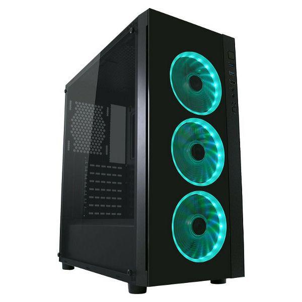 LC-Power 995B Light Box TG, RGB, crno bez nap.