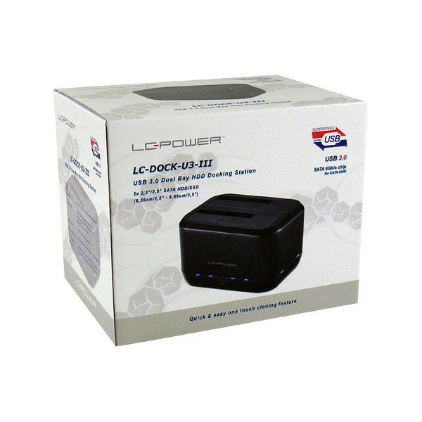 LC-Power dock za SSD/HDD, USB 3.0
