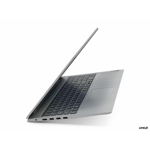Laptop Lenovo Ideapad 3, 81W1011BSC, R7-3700U, 8GB, 512GB, 15,6