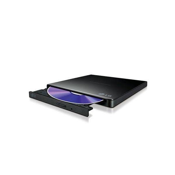 LG DVD±RW DL 8x Slim USB 2.0 crna