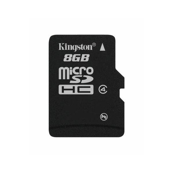 Memorijska kartica  Kingston SD MICRO 8GB HC Class 4 + SD ad