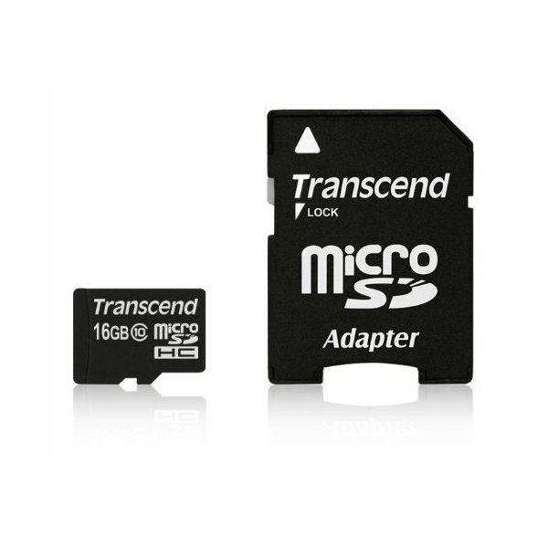 Memorijska kartica Transcend SD MICRO 16GB HC Class 10