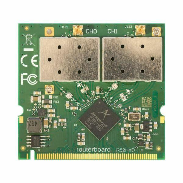 MikroTik Wireless 2,4 or 5GHz miniPCI card