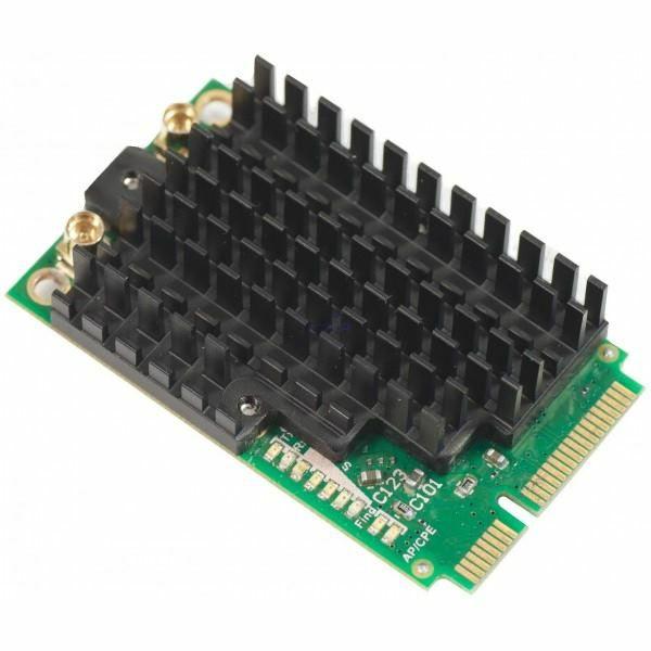 Mikrotik 2,4GHz dual chain mini PCI-E card
