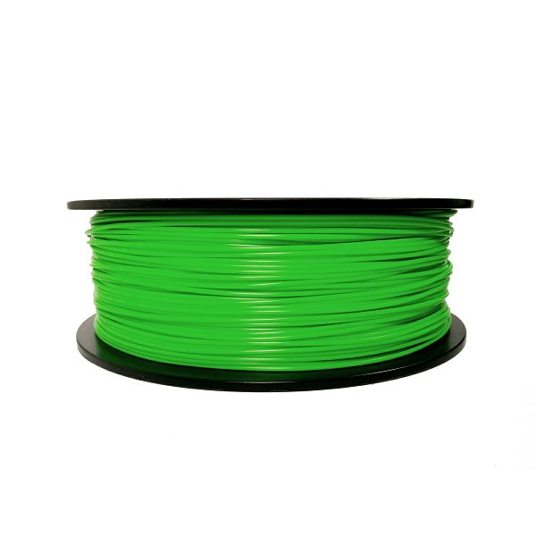 Filament for 3D, ABS, 1.75 mm, 1 kg, green