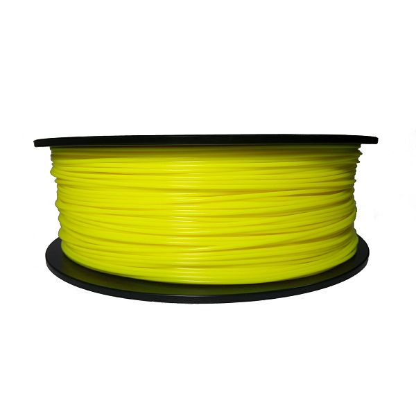 Filament for 3D, ABS, 1.75 mm, 1 kg, yellow