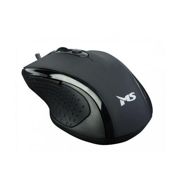 Miš MS WAVE_2 žičani miš, crni