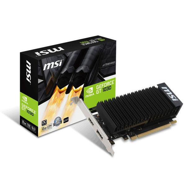 MSI GF GT 1030 2GH LP OC, 2GB GDDR5, DX12