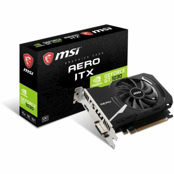 MSI GT1030 AERO ITX 2GD4 OC, 2GB GDDR4