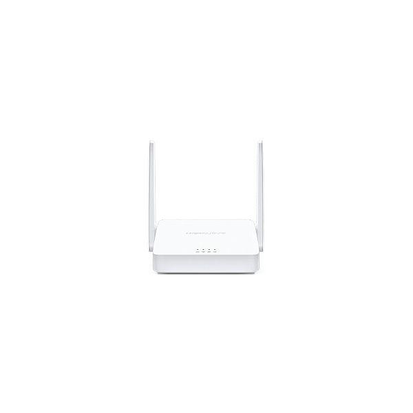 Mercusys bežični N usmjerivač (Router) 300Mbps (2.4GHz), 802.11n/g/b, 1×WAN , 2×LAN, 2×fiksna antena