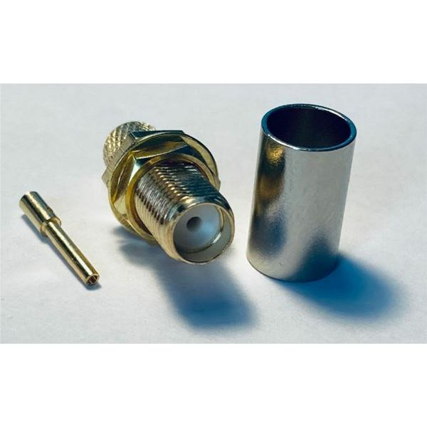 MaxLink VF SMA female gold plated connector for H155, RF240 external thread