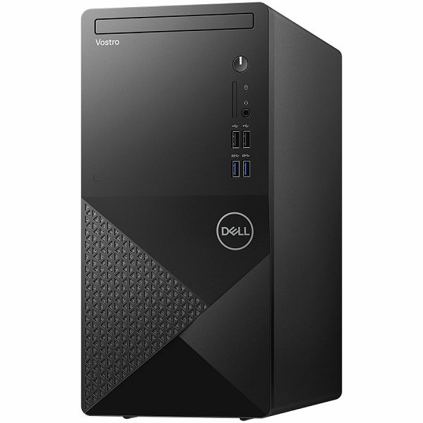 Računalo DELL Vostro 3888 w/260W EPA, Intel Core i5-10400(6-Core, 12M Cache, 2.9GHz to 4.3GHz), 8GB (1x8GB) DDR4 2666MHz, 256GB M.2 PCIe NVMe, Integrated Graphics, CR SD 3.0, DVDRW, TPM, WiFi, BT