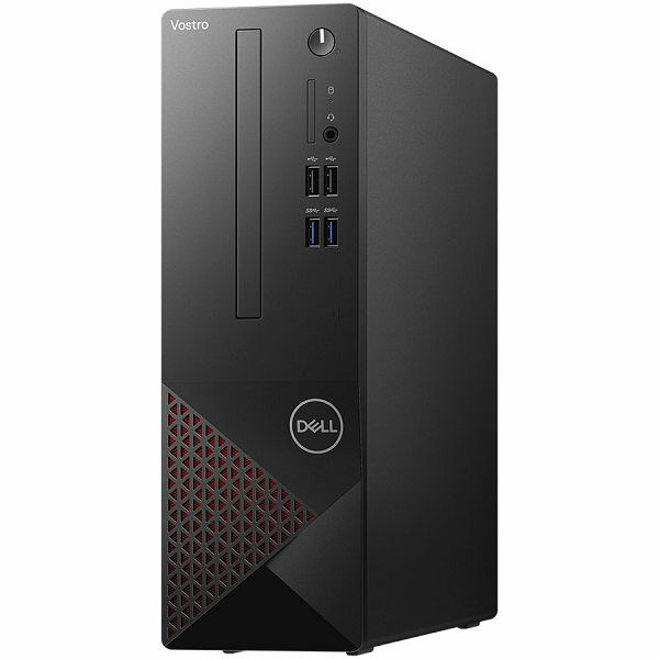 Računalo Dell Vostro 3681 w/200W, Intel Core i7-10700(8-Core, 16MCache, 2.9GHz to 4.8GHz), 8GB (1x8GB) DDR4 2933MH, 512GB M.2 PCIe NVMe, Integrated graphics, DVDRW, WiFi, BT, NO kb, Win10Pro, 3Y