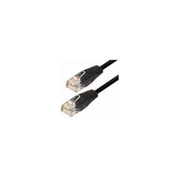 #25 NaviaTec cat5e UTP 0,5m black