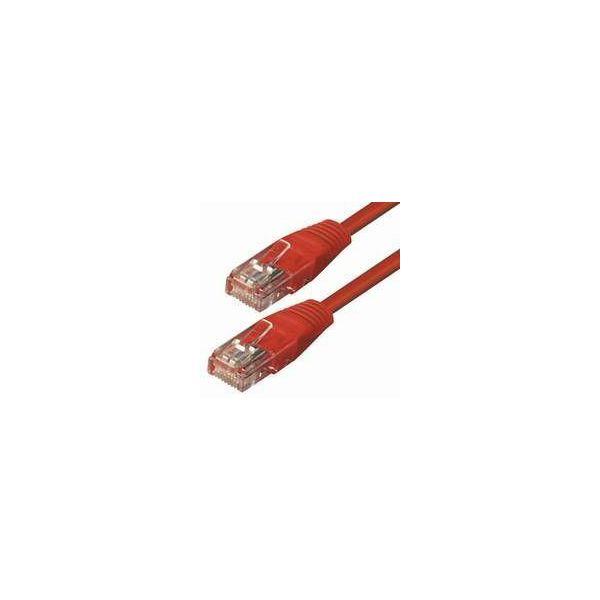 #29 NaviaTec cat5e UTP 0,5m red