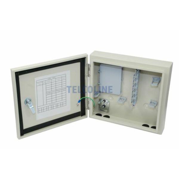 NFO Metal distribution box 12x SC Simplex LC Duplex