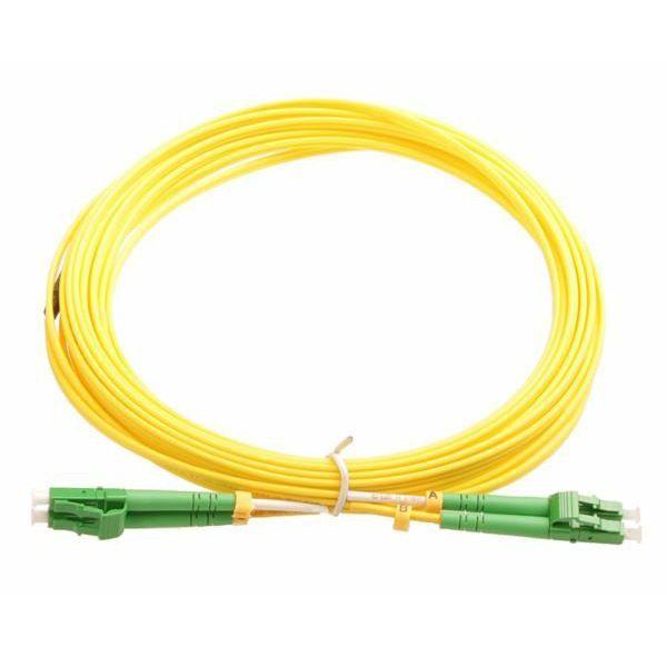 NFO Patch cord, LC APC-LC APC, Singlemode, 9 125, G.657.A2, Duplex, 3mm, 2m