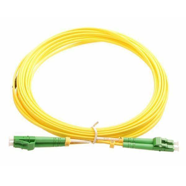 NFO Patch cord, LC APC-LC APC, Singlemode, 9 125, G.657.A2, Duplex, 3mm, 5m