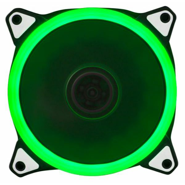 NaviaTec PC Case Fan 120mm, Green LED