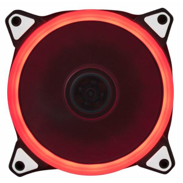NaviaTec PC Case Fan 120mm, Red LED