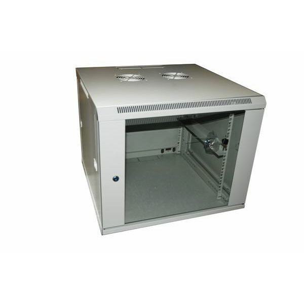 NaviaTec Wall Cabinet 600x600 18U Single Section