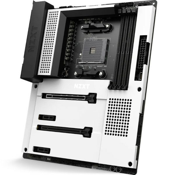 NZXT N7 B550 White, HDMI, WiFi, Bluetooth