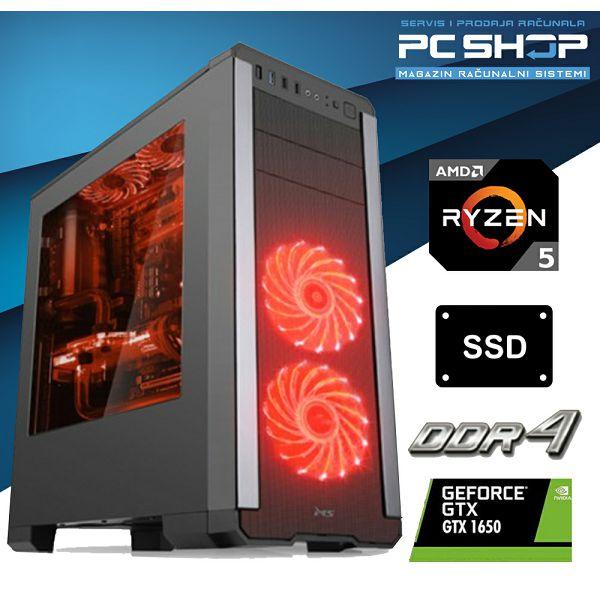PC Računalo MagazinRS Gamer (Ryzen 5 1600 3.2GHz, GTX 1650, 8GB DDR4 RAM, SSD 480GB)