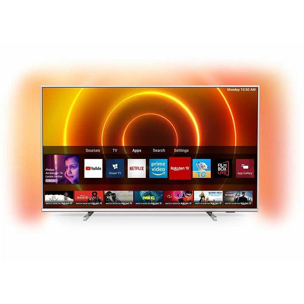 Televizor Philips 43PUS7855, 109cm, 3xHDMI, Smart, Amb3, UHD