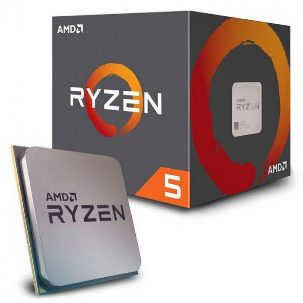 Procesor AMD Ryzen 5 1600 (6C/12T, 3.4/3.6GHz Boost,19MB,65W,AM4) box, with Wraith Spire