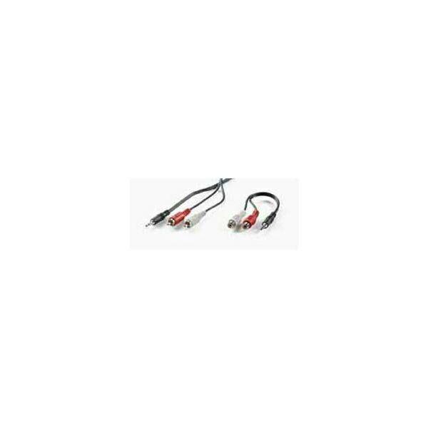 Roline VALUE kabel 3.5mm Jack M   2×chinch M, 5m