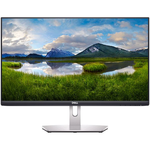 Monitor DELL S-series S2421H 23.8in, 1920x1080, FHD, IPS Antiglare, 16:9, 1000:1, 250 cd/m2, AMD FreeSync, 4ms, 178/178, 2x HDMI, Audio line out, Tilt, 3Y